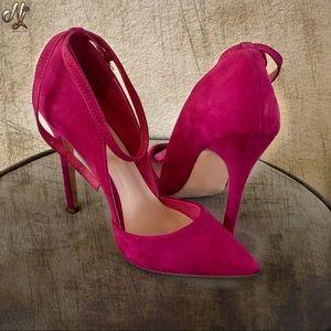 Fuchsia Pink Stiletto's